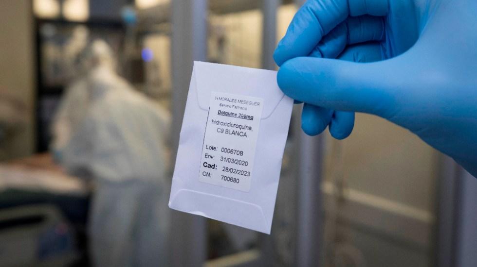 OMS desaconseja usar la hidroxicloroquina para prevenir el COVID-19 - Foto de EFE