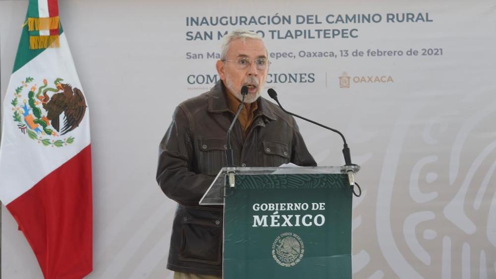 Jorge Arganis, secretario de Comunicaciones y Transportes. Foto de SCT