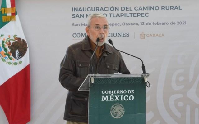 Elimina SCT declaraciones de Jorge Arganis sobre preferencia por ingenieros militares en megaproyectos - Jorge Arganis, secretario de Comunicaciones y Transportes. Foto de SCT