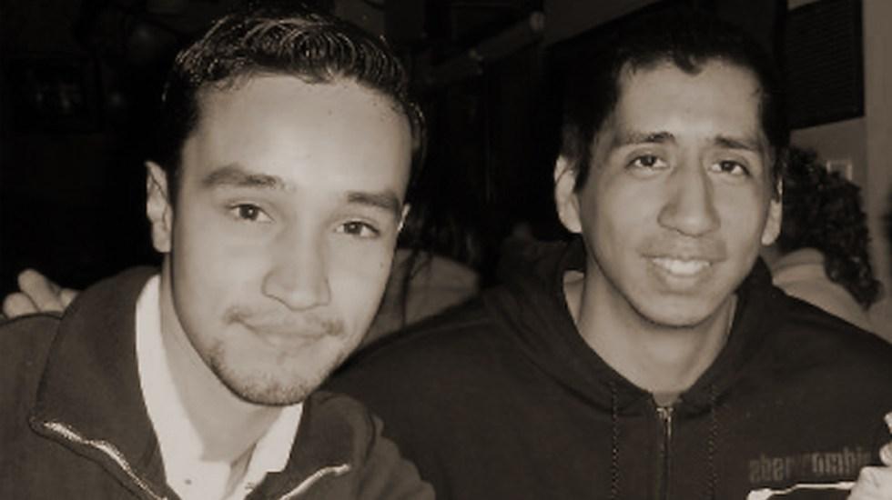 Exigen justicia por estudiantes asesinados por militares en 2010 - Jorge y Javier, estudiantes asesinados por militares en Monterrey, Nuevo León. Foto de @TodosSomosJyJ