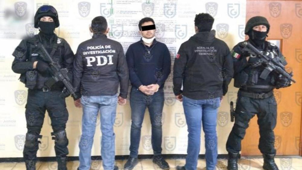 Detienen en Edomex a sobrino de Rafael Caro Quintero por homicidio calificado - Foto de FGJ CDMX