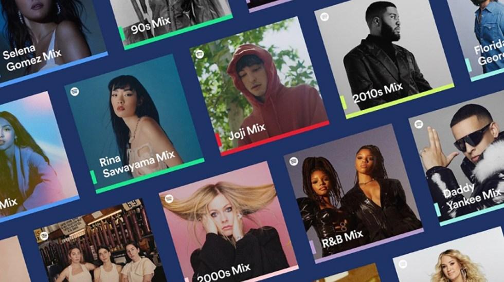 Spotify lanza nuevas mezclas personalizadas - Spotify lanza nuevas mezclas personalizadas. Foto de Spotify.