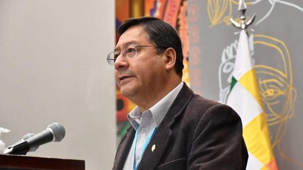 Senado mexicano recibirá al presidente de Bolivia, Luis Arce, en sesión solemne - Foto de Twitter Luis Arce