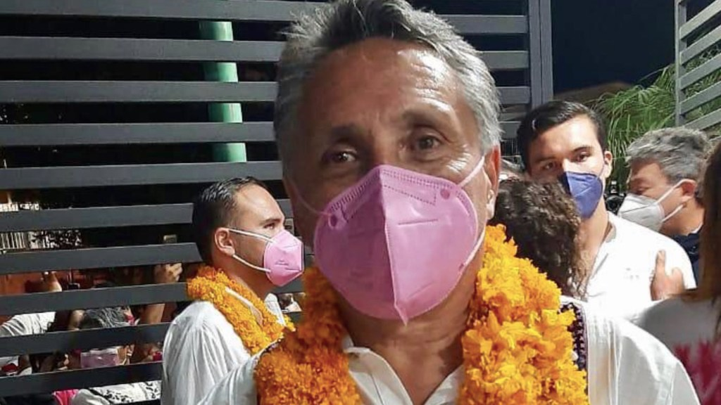 Manuel Negrete pide licencia definitiva a alcaldía de Coyoacán; aspira a gubernatura de Guerrero - Foto de Twitter @gerislas