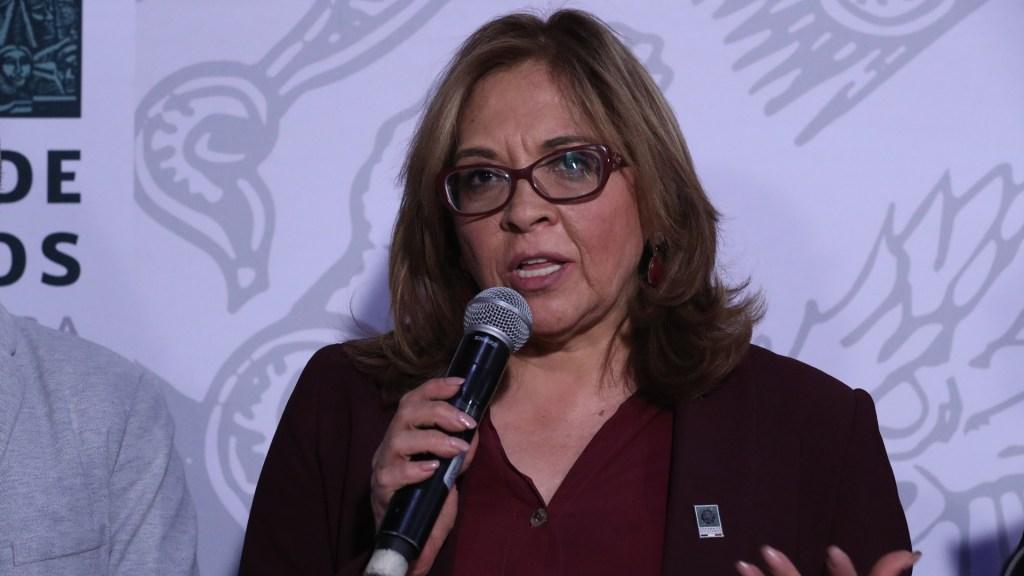 Diputada de Morena exige que Lorenzo Córdova sea removido del INE - maría de los ángeles huerta del río