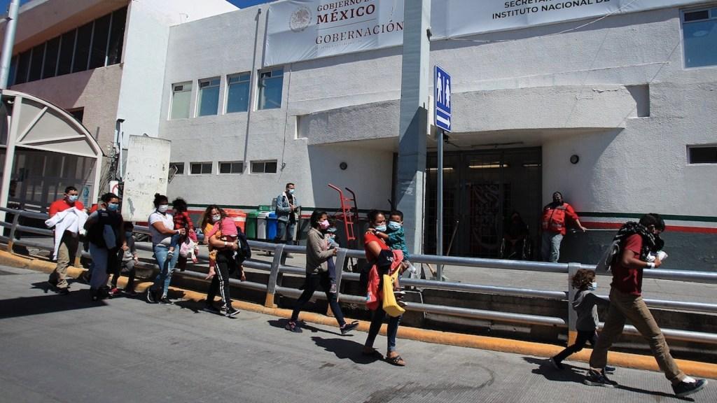 """CNDH pide ayuda """"urgente"""" para migrantes en Tamaulipas - Migrantes en México. Foto de EFE"""