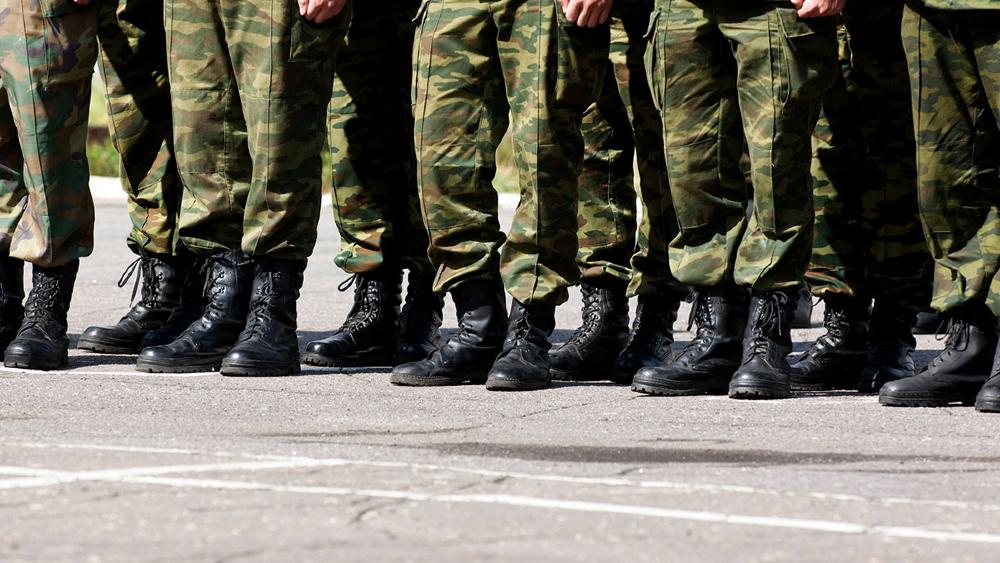 Titular de la Sedena lamenta muerte de dos militares en accidente vehicular - Elementos del Ejército Mexicano. Foto de  @ONUDHmexico (Archivo)