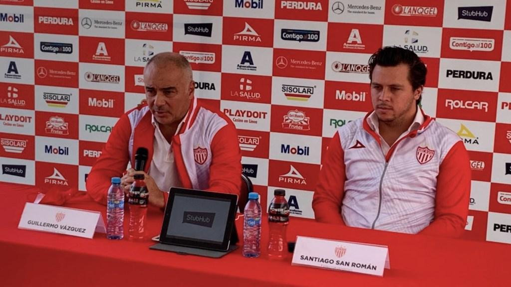Guillermo Vázquez es el nuevo entrenador del Necaxa - Foto de @arturo_reyes_