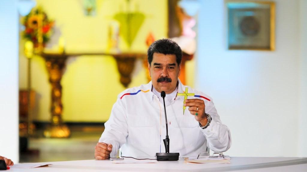 """""""Mucho cuidado"""", Nicolás Maduro acusa al presidente de Colombia de buscar confrontación militar con Venezuela - Nicolás Maduro Venezuela presidente"""