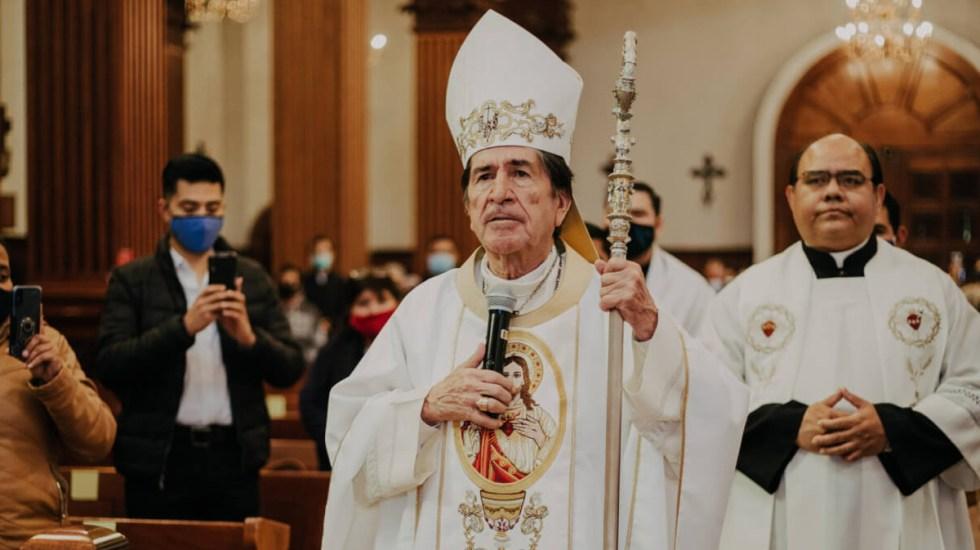 Obispo de Ciudad Victoria renunció por Alzheimer, confirma Diócesis - En la foto, el Monseñor Antonio González Sánchez. Foto de Diócesis de Victoria