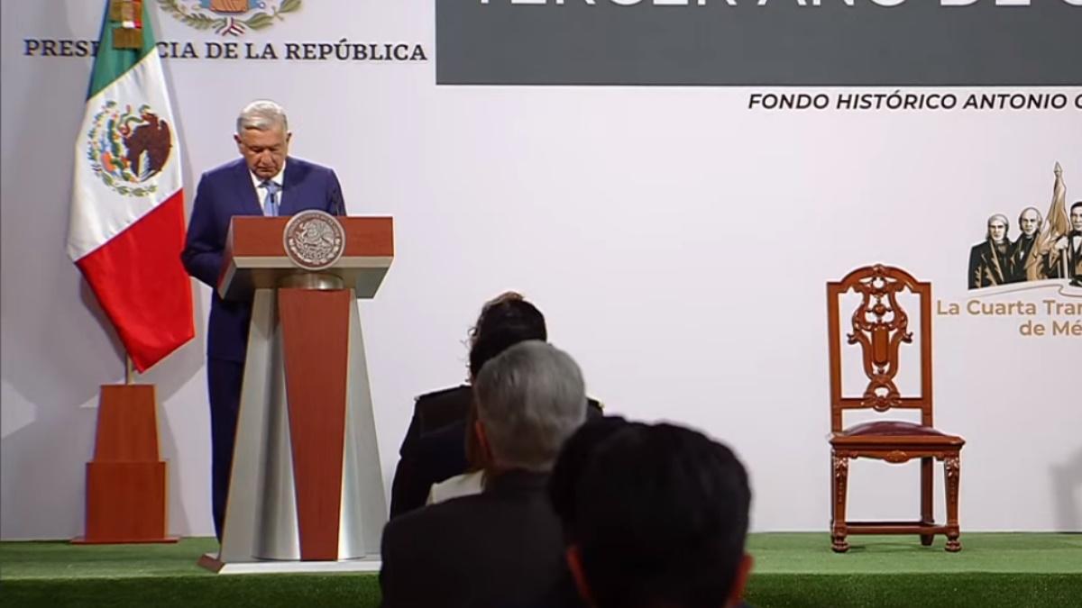 Palacio Nacional México informe López Obrador primer trimestre 3