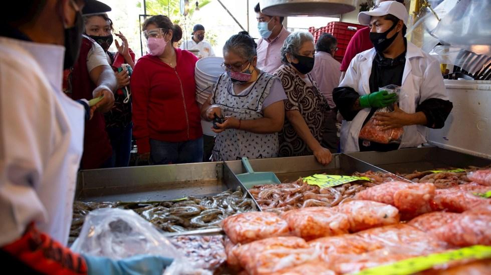"""Repunte en inflación """"es un asunto transitorio"""", afirma AMLO - inflación mercado productos México"""