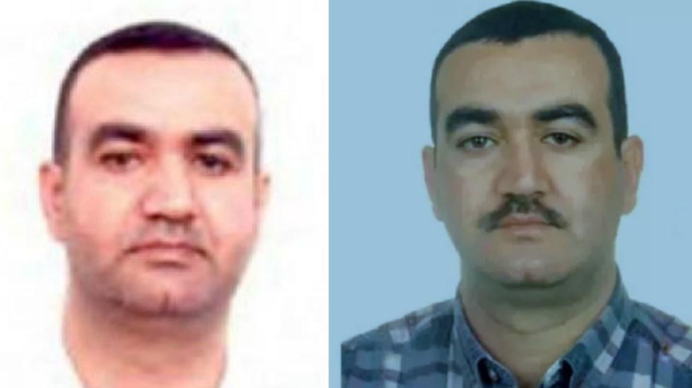 Justicia de EE.UU. ofrece hasta 10 mdd por información sobre agente de alto rango de Hizbulá - Salim Jamil Ayyash. Fotos de Special Tribunal for Lebanon y Rewards for Justice