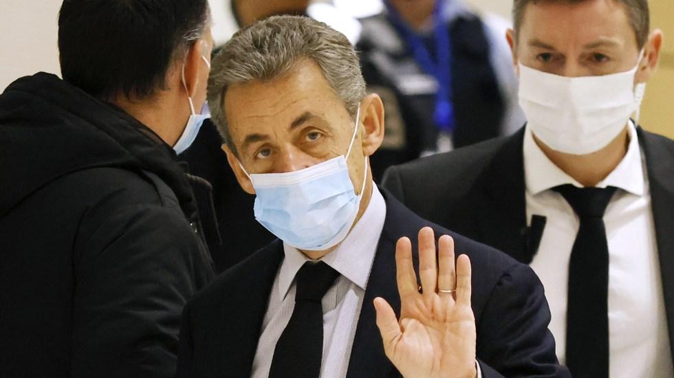 Nicolas Sarkozy condenado a un año de cárcel por financiación ilegal - Nicolas Sarkozy.