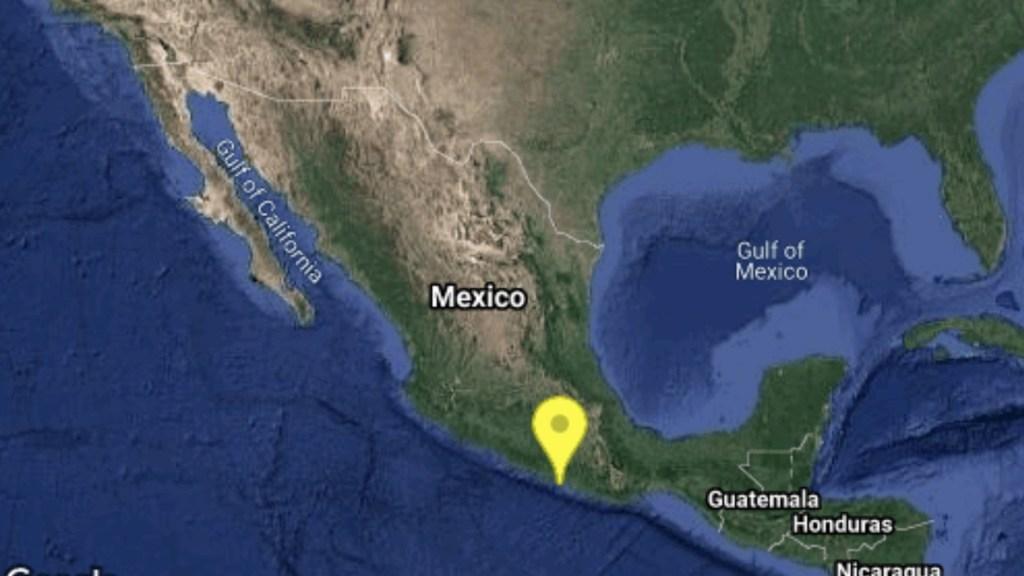 Protección Civil activa protocolos en Guerrero tras sismo; no hay reporte de daños - Sismo con epicentro en Guerrero. Foto de Sismológico Nacional
