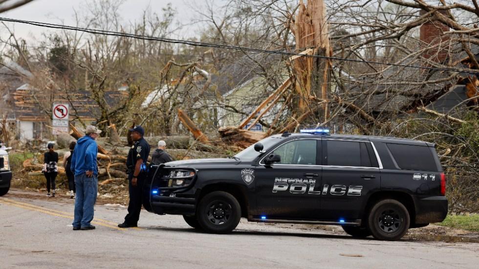 Tornados en el sureste de EE.UU. dejan seis muertos y cuantiosos daños - Foto de EFE