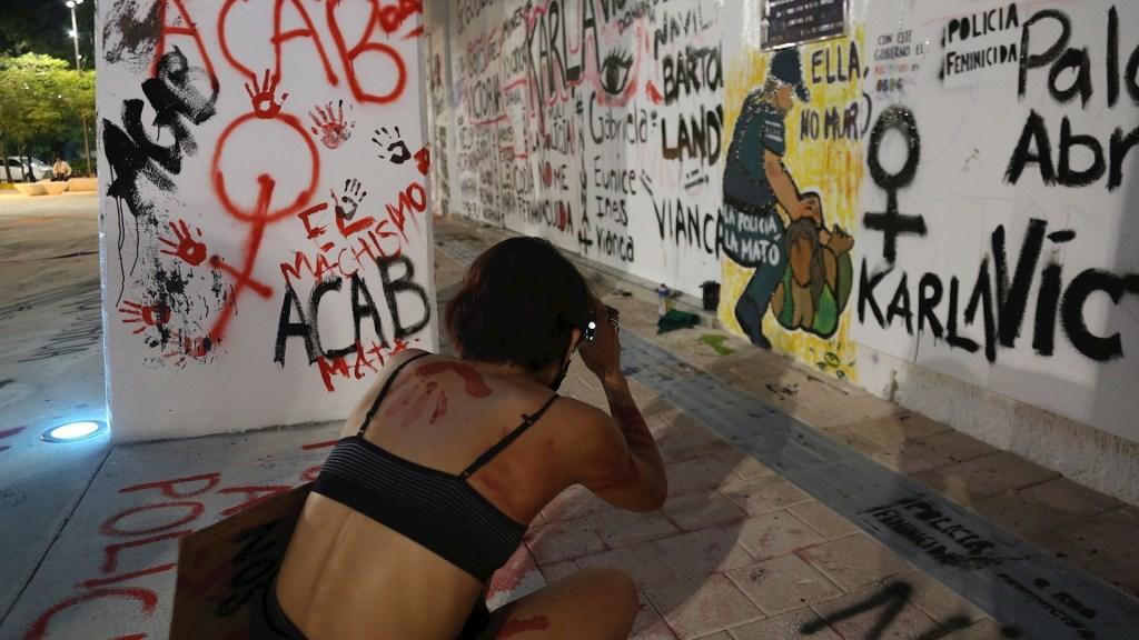 Autoridades mexicanas deben garantizar reparación por asesinato de Victoria Salazar: Amnistía Internacional - Victoria Salazar protesta Tulum Quintana Roo salvadoreña