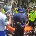 Disparan a abogado sobre Paseo de la Reforma; resultó herido en el hombro