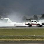 Aeropuerto Internacional de Toluca cierra por aterrizaje de emergencia