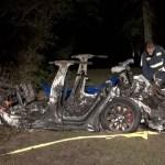 Accidente de auto Tesla sin nadie al volante deja dos muertos en Texas
