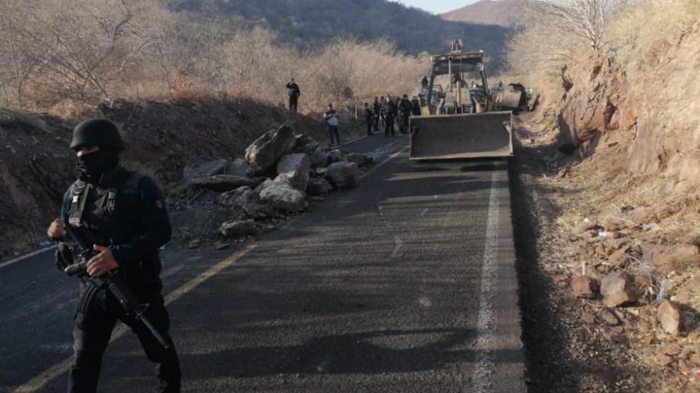 Un detenido por utilizar drones contra policía en Aguililla - Aguililla Michoacan operativo