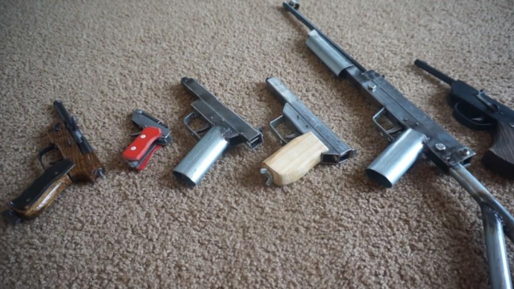 Biden busca frenar la proliferación de las armas caseras - Armas caseras Estados Unidos Ghost Guns