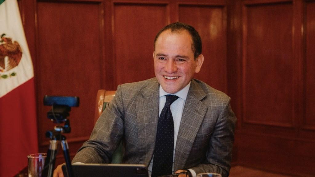 Herrera pide acceso rápido y equitativo a vacunas para todos los países - El secretario de Hacienda, Arturo Herrera pidió equidad en la distribución de las vacunas contra el COVID-19. Foto de Twitter @ArturoHerrera_G