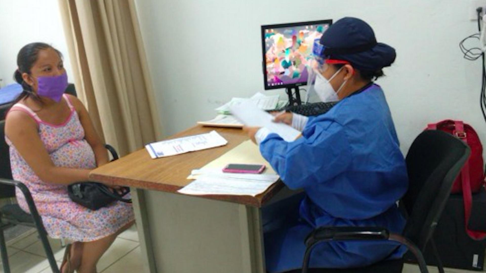 Atención médica. Foto de ACNUR