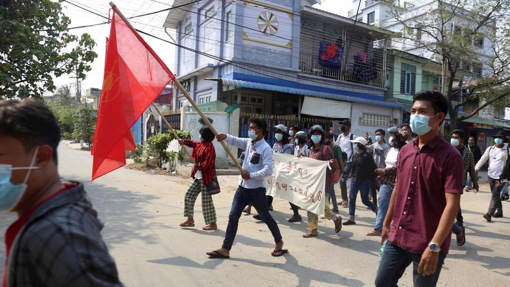 Birmania protestas golpe de estado Internacional
