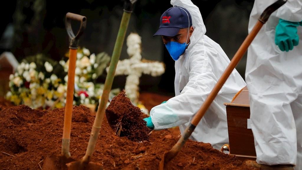 Brasil mantiene más de 3 mil muertes al día por COVID-19 - Brasil COVID-19 pandemia epidemia coronavirus pandemia