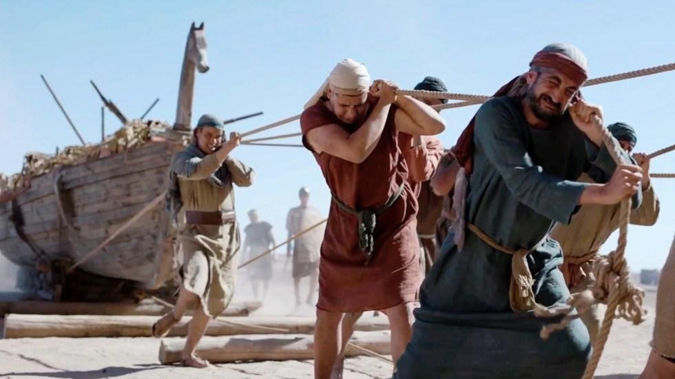 Documental revela que caballo de Troya podría haber sido un barco - Un documental revelaría que el caballo de Troya en realidad es un barco. Foto de EFE