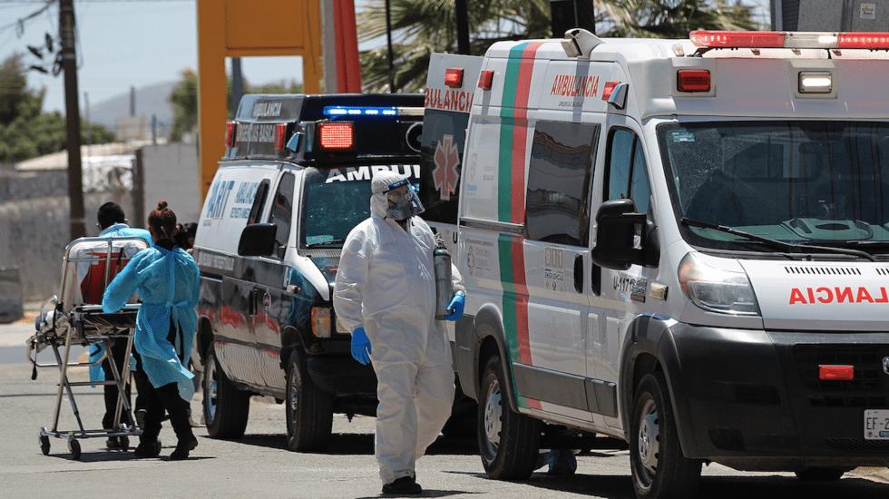 México registró en las últimas 24 horas 371 muertes y 3 mil 818 casos de COVID-19 - Casos de COVID-19 en México. Foto de EFE