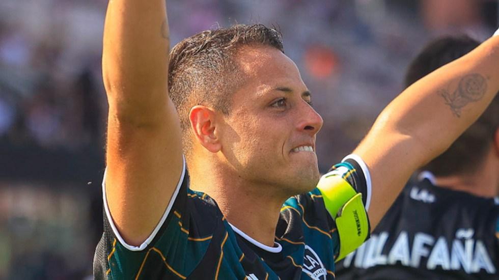 'Chicharito' deja con las manos vacías al Inter Miami - Chicharito Hernández LA Galaxy
