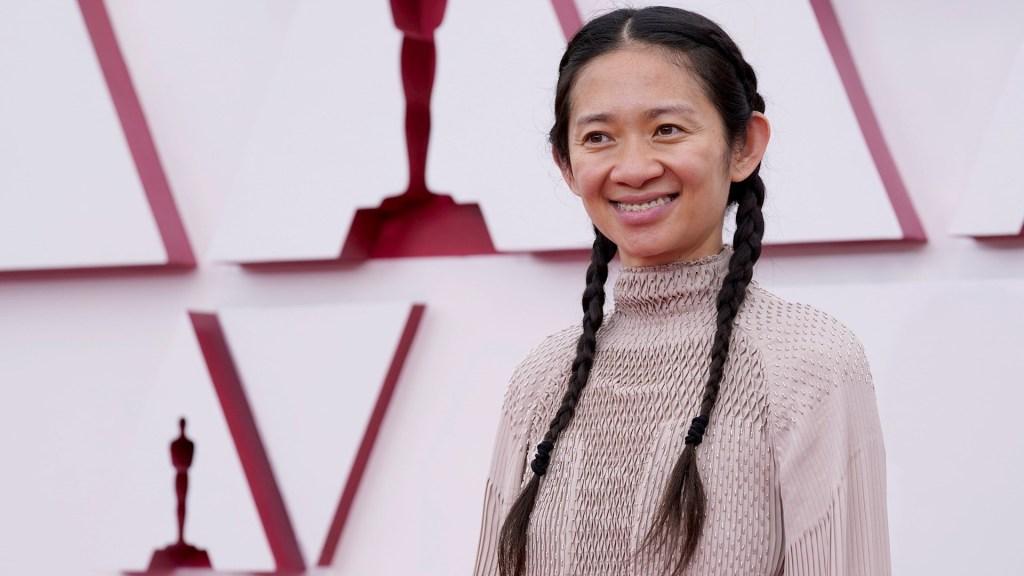 Chloé Zhao hace historia en los premios Óscar - Chloé Zhao premios oscar