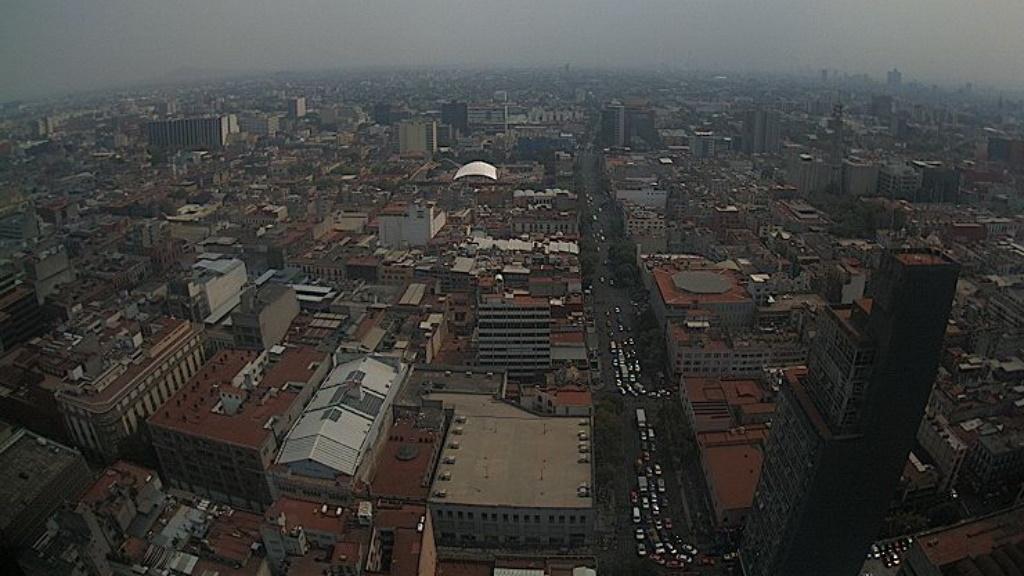 Activan medidas por altas concentraciones de ozono en el Valle de México - Ciudad de México ambiente CDMX
