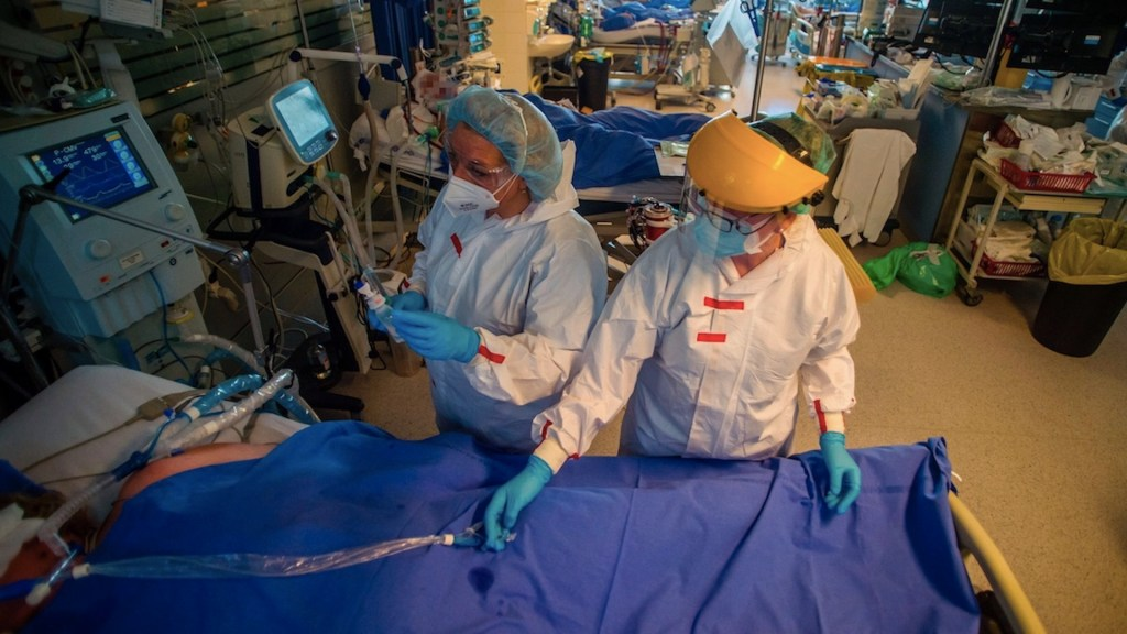 Suman mas de 134.7 millones de casos de COVID-19 en el mundo - Contagios de COVID-19 en el mundo. Foto de EFE