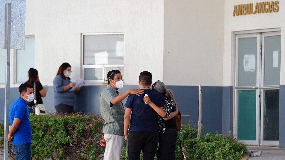 México registró en las últimas 24 horas 582 muertes y 4 mil 262 casos de COVID-19 - Contagios de COVID-19 en México. Foto de EFE