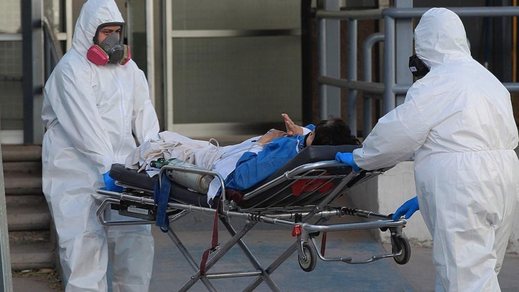 México registró en las últimas 24 horas 3 mil 6 casos y 411 muertes por COVID-19 - Contagios por COVID-19 en México. Foto de EFE