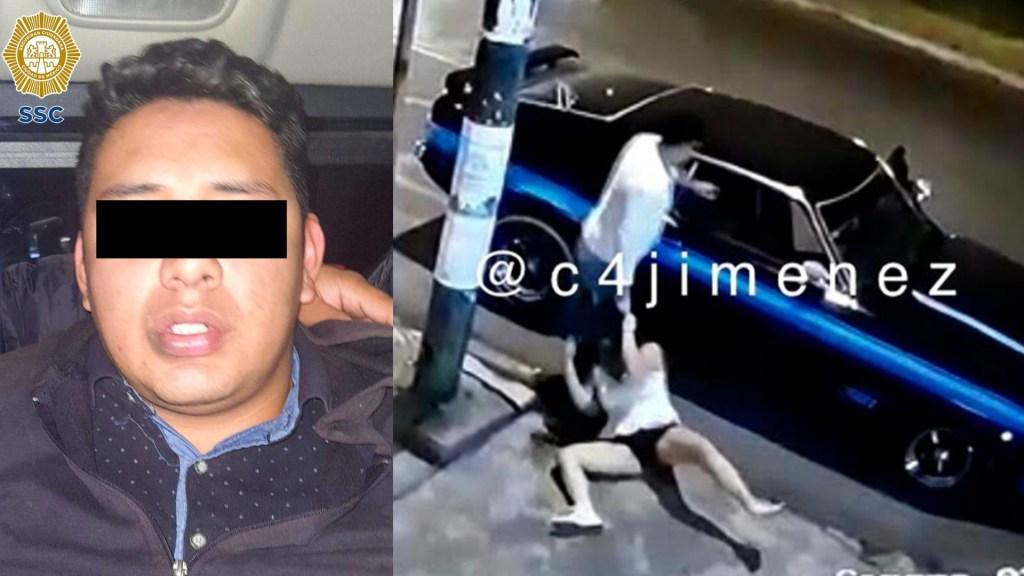 Detienen a sujeto implicado en agresión a mujer en Coapa - Coyoacán mujer mustang Coyoacán