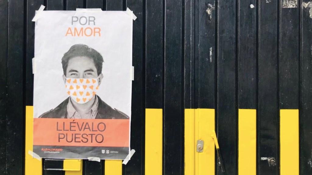 México registró en las últimas 24 horas 603 muertes y 4 mil 675 casos de COVID-19 - Uso de cubrebocas en la Ciudad de México. Foto de Tania Villanueva/López-Dóriga Digital