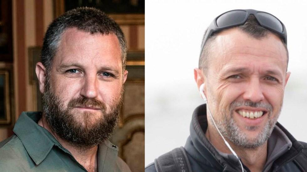 Secuestran y asesinan en Burkina Faso a dos periodistas españoles - David Beriain y Roberto Fraile, periodistas españoles asesinados en Burkina Faso. Foto de Twitter
