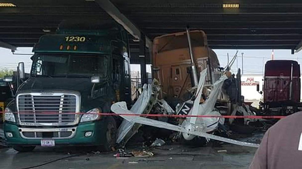 Desplome de avión pequeño en Nuevo León deja varios muertos - Desplome de avión pequeño en Nuevo León. Foto de @PC_NuevoLeon