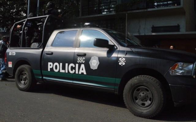 Detienen a 8 por agresión a policías en Tlalpan - Detienen a 8 por agresión a policías en Tlalpan. Foto de Omar García Harfuch