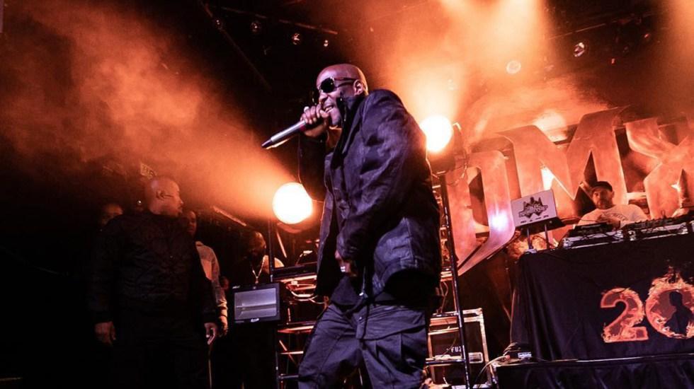 Murió el rapero DMX tras varios días hospitalizado por infarto - DMX en concierto. Foto de @dmx
