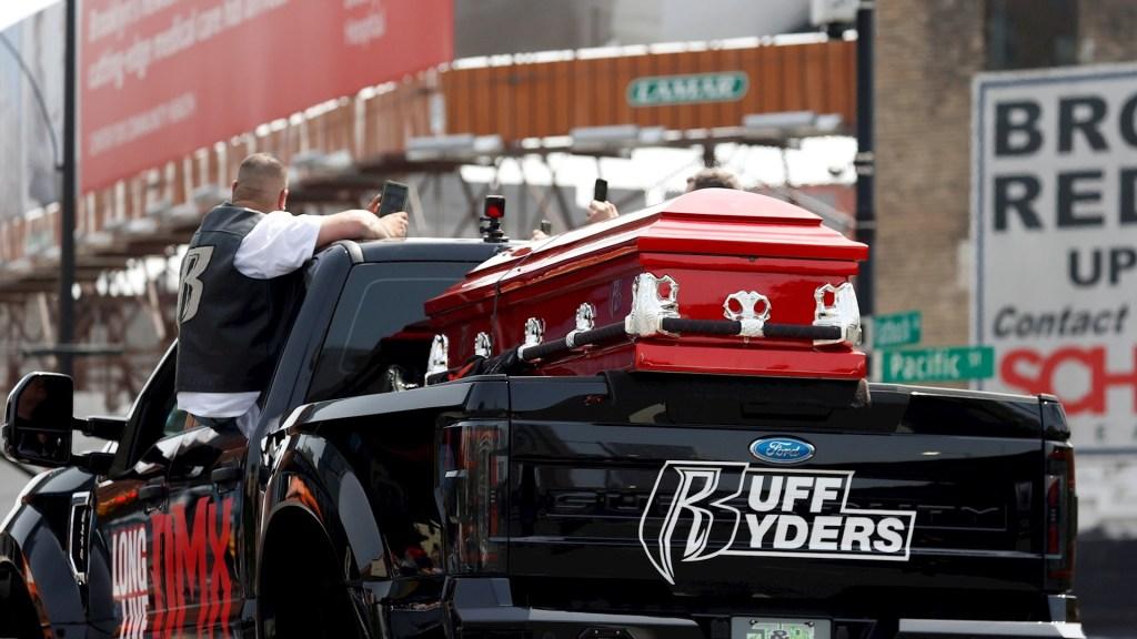 Dan el último adios al rapero DMX en Nueva York - DMX Funeral Nueva York rapero