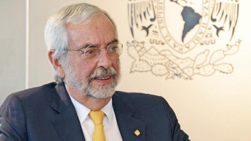 """""""Sin una inversión estratégica, diálogo y corresponsabilidad no vamos a lograr que México avance"""", advierte Enrique Graue - Enrique Graue Wiechers UNAM"""
