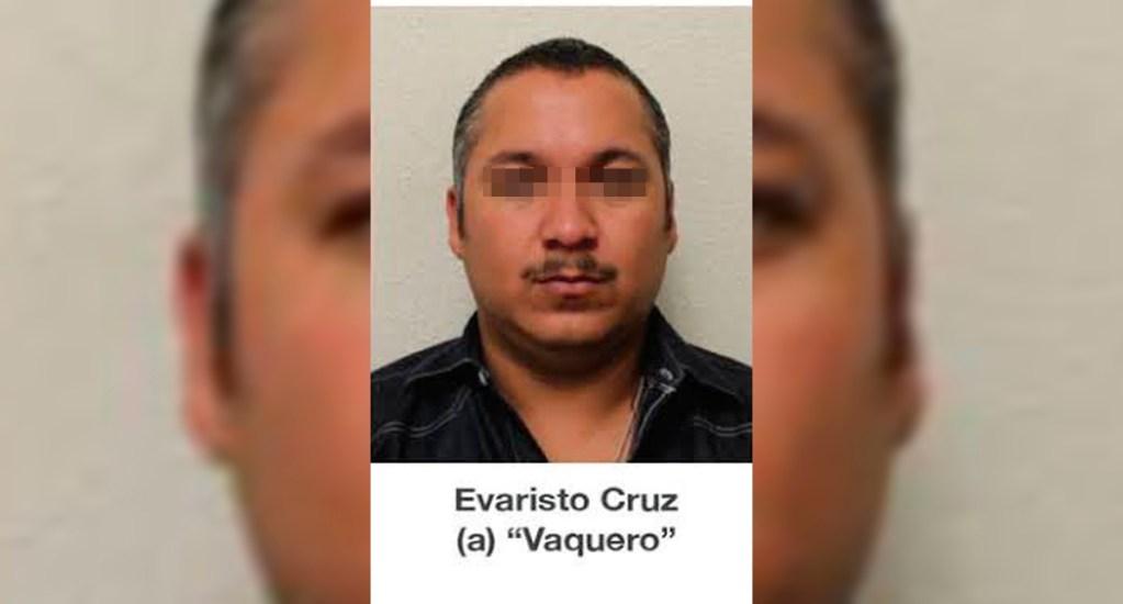 Detienen en Nuevo León a presunto líder del Cártel del Golfo - Evaristo Cruz Sánchez, 'El Vaquero', presunto líder del Cártel del Golfo. Foto de FGE Tamaulipas