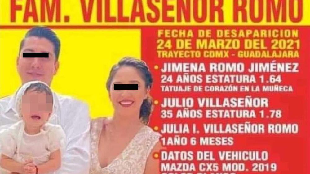 familia desaparecida Jalisco Acatic