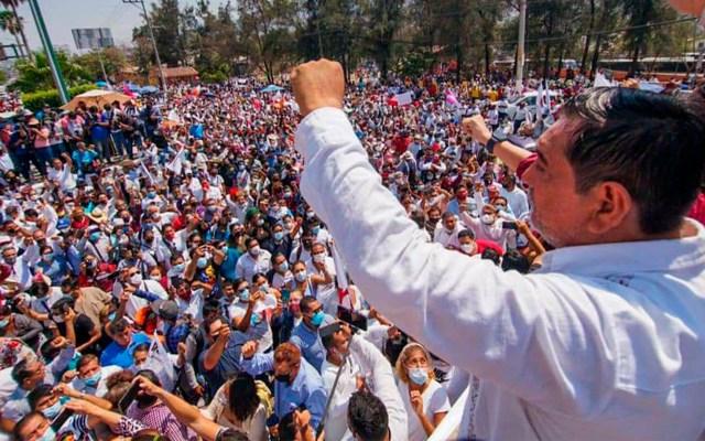 Desafía Félix Salgado Macedonio: ¡seré gobernador! - Félix Salgado Macedonio durante evento. Foto de @FelixSalMac.