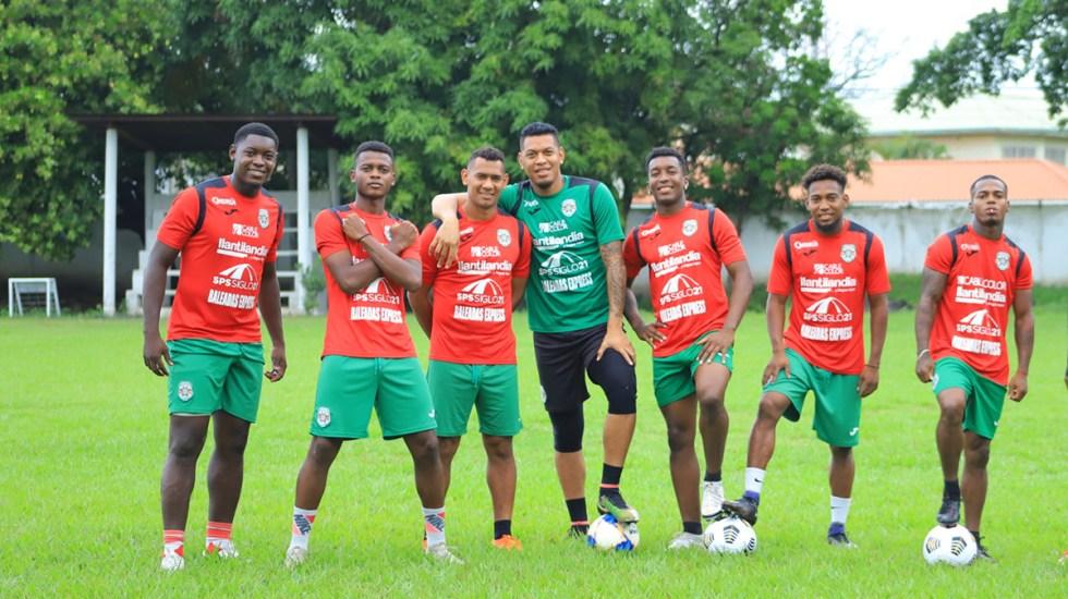 Futbolistas hondureños desertan en EE.UU.; emiten alerta migratoria para localizarlos - Futbolistas del Club Deportivo Marathón. Foto de @cdmarathon